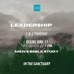 Men's Bible Study Through 1st & 2nd Timothy