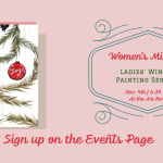 Women's Ministry Winter Painting Event